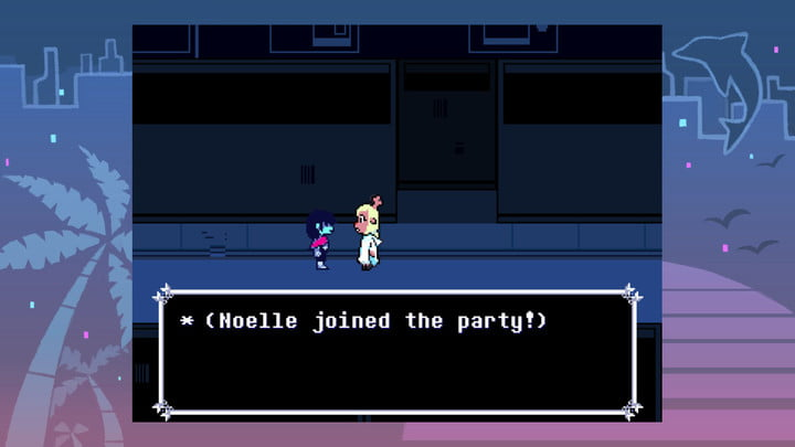 Noelle joins the party in Deltarune Chapter 2.