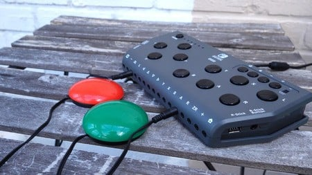 The Hori Flex and the Xbox Adaptive Controller are both Large Bois